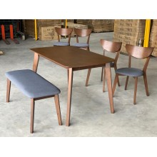 [1 + 2+BENCH] GF X2 FUSION DINING ROOM SET