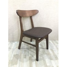 [2 UNITS] GF 03-BROWN RETRO DINING CHAIR
