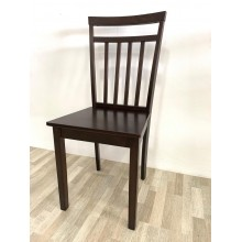 [2 UNITS ]GF P3-CAPP WITH WOODEN CHAIR SEAT DINING CHAIR