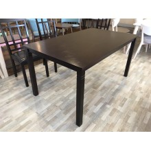 [150CM] GF BLACK WENGE DINING TABLE