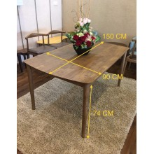 GF [150CM] SCANDINAVIAN DINING TABLE
