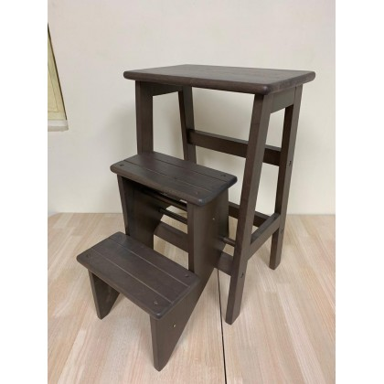 GF SOLID WOOD FOLDABLE STEP CHAIR