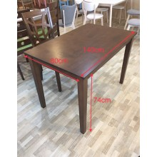 [ 6 SEATER ] WOODEN DINING TABLE 6500-MB