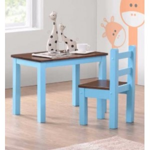 KIDS TABLE n CHAIR SET [MOBILA BROWN ]
