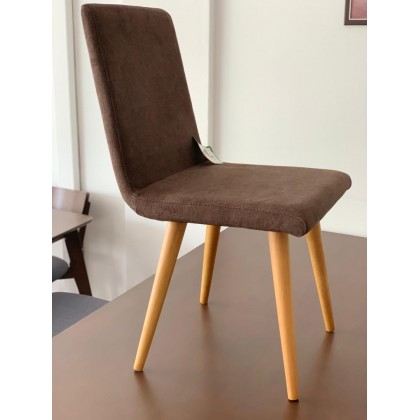 [2 UNITS] SCANDINAVIAN UPHOLSTERED DINING CHAIRS
