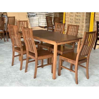 [2 UNITS] GF DINING MILLER WOODEN SEAT