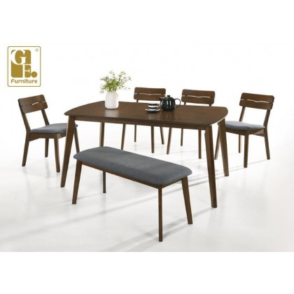 [1+4+BEN] GF 18  DINING ROOM SET